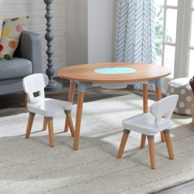 Kidkraft Mid Century Kid Table and 2 Chair Set