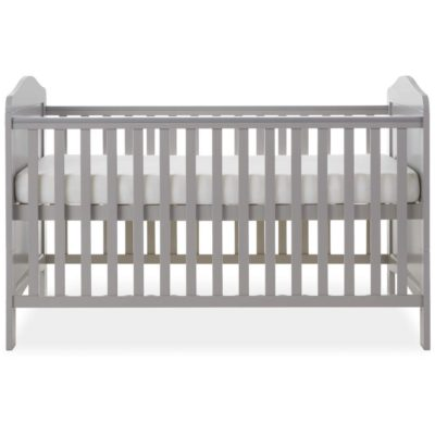 Obaby Whitby Cot Bed - Warm Grey