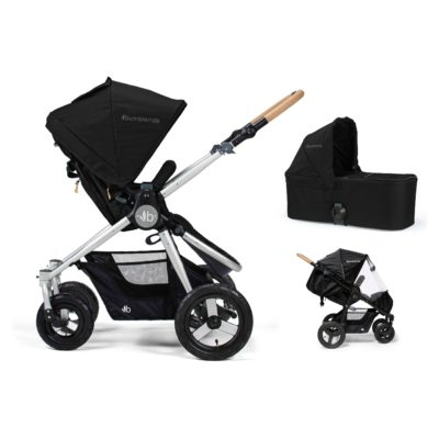 Bumbleride Era 2 in 1 – Silver Black