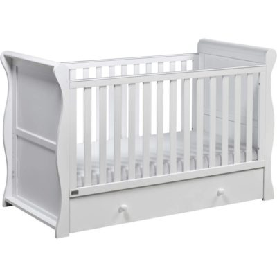 east coast nebraska cot bed in white