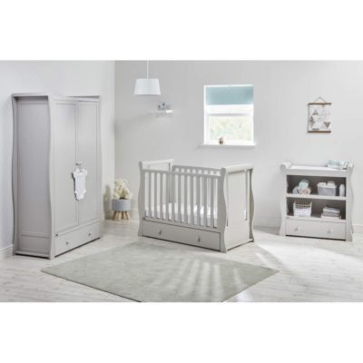 east coast nebraska full size room set grey