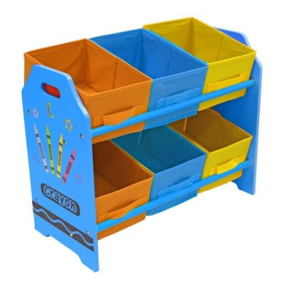Kiddi Style Crayon Storage Unit - Blue