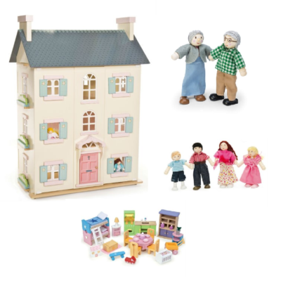 le toy van cherry tree hall ultimate bundle