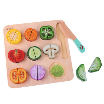 Classic World Cutting Vegetable Puzzel