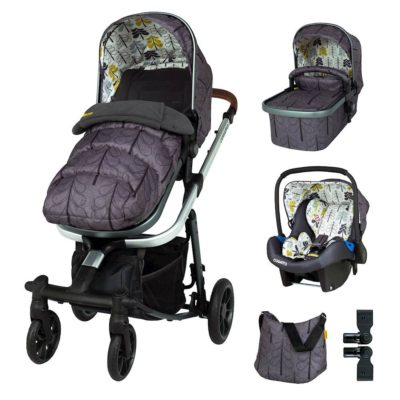 Cosatto Fika Forest Giggle Quad Travel System Bundle