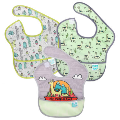 Hippychick Bumkins Super Bib Packs - No Probllama