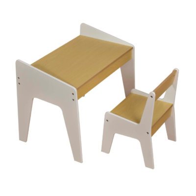 KIDS PLAY TABLE – White and Pine liberty house toys
