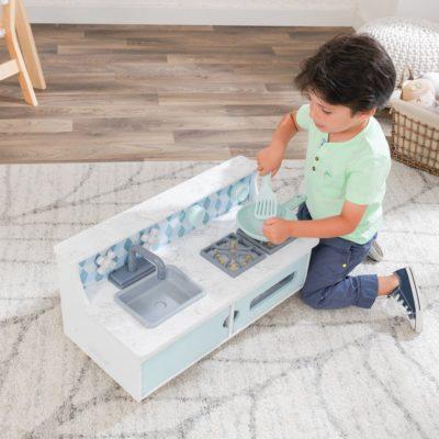 Kidkraft Play and Put Away Wooden Kitchen 2