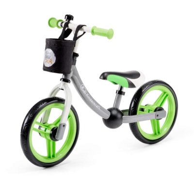 Kinderkraft 2 Way Next Balance Bike - Green and Grey