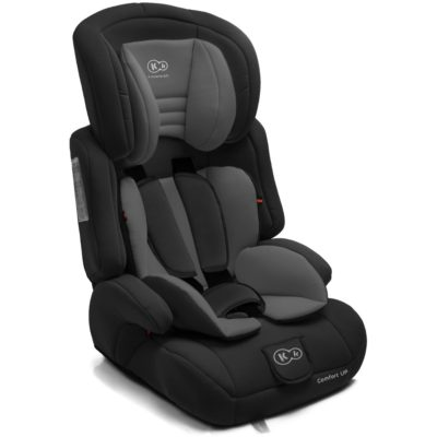 Kinderkraft Comfort Up Group 1,2,3 Car Seat - Black 2