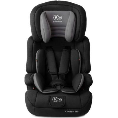 Kinderkraft Black Comfort Up Car Seat