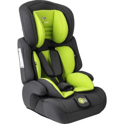 Kinderkraft Comfort Up Group 1,2,3 Car Seat - Lime 2