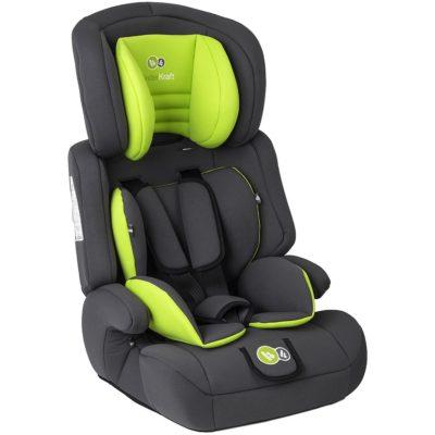 Kinderkraft Comfort Up Group 1,2,3 Car Seat - Lime