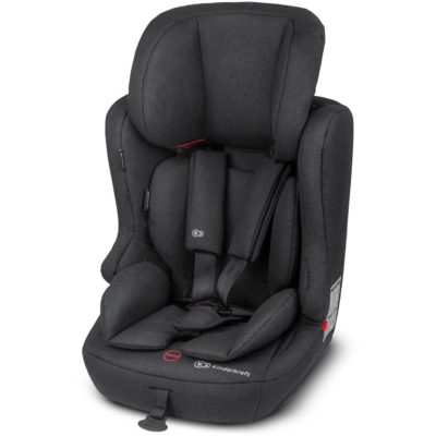 Kinderkraft Fix2Go Isofix Group 1,2,3 Car Seat - Black 2