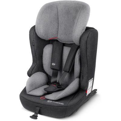 Kinderkraft Fix2Go Isofix Group 1,2,3 Car Seat - Grey 2