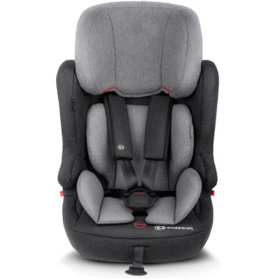 Kinderkraft Fix2Go Isofix Group 1,2,3 Car Seat - Grey