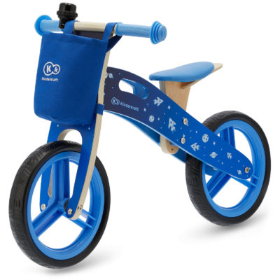 Kinderkraft Galaxy Runner Balance Bike - Blue