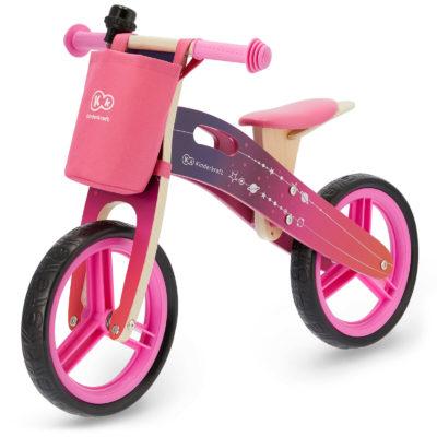 Kinderkraft Galaxy Runner Balance Bike - Pink