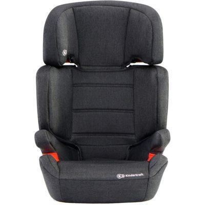 Kinderkraft Junior Fix Isofix Group 2,3 Car Seat - Black 2