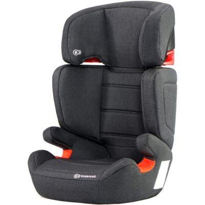 Kinderkraft Junior Fix Isofix Group 2,3 Car Seat - Black