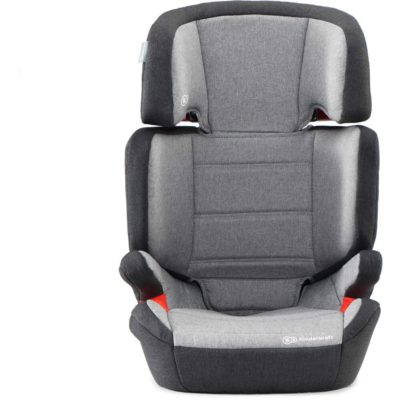 Kinderkraft Junior Fix Isofix Group 2,3 Car Seat - Grey 2