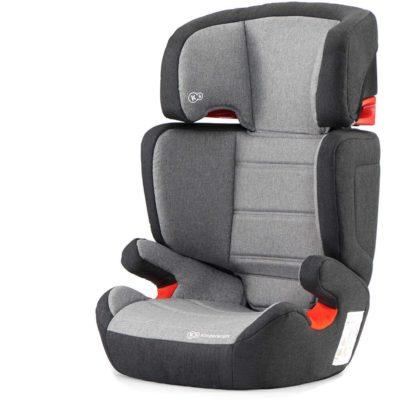 Kinderkraft Junior Fix Isofix Group 2,3 Car Seat - Grey