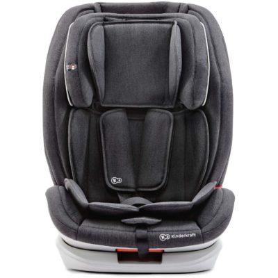 Kinderkraft OneTo3 Group 1,2,3 Isofix Car Seat - Black 2