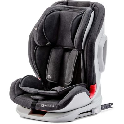 Kinderkraft OneTo3 Group 1,2,3 Isofix Car Seat - Black