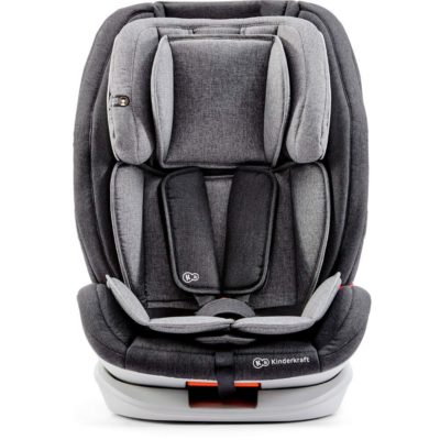 Kinderkraft OneTo3 Group 1,2,3 Isofix Car Seat - Grey 2