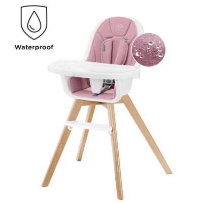 Kinderkraft Pink Tixi 2 in 1 Highchair