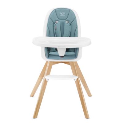 Kinderkraft Tixi 2 in 1 Highchair - Turquoise 2