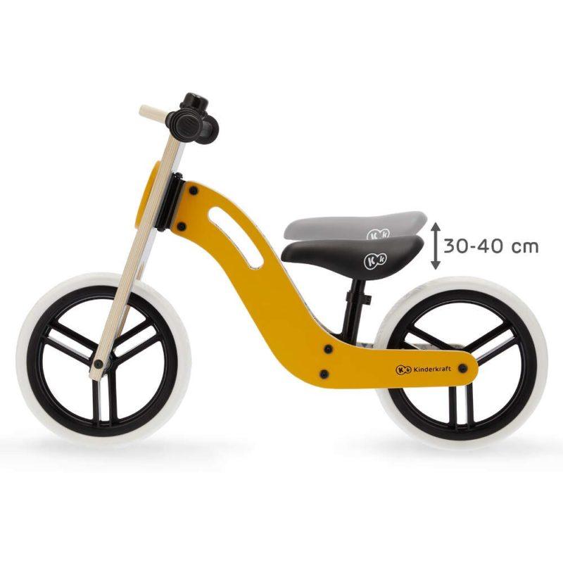 Kinderkraft Uniq Balance Bike - Honey 5