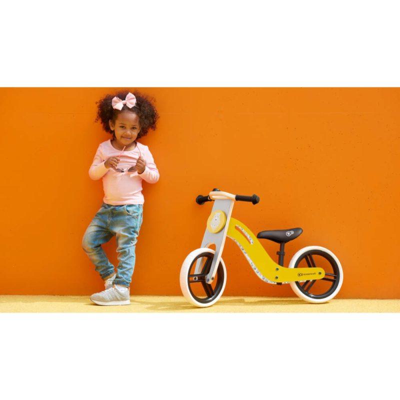 Kinderkraft Uniq Balance Bike - Honey 9