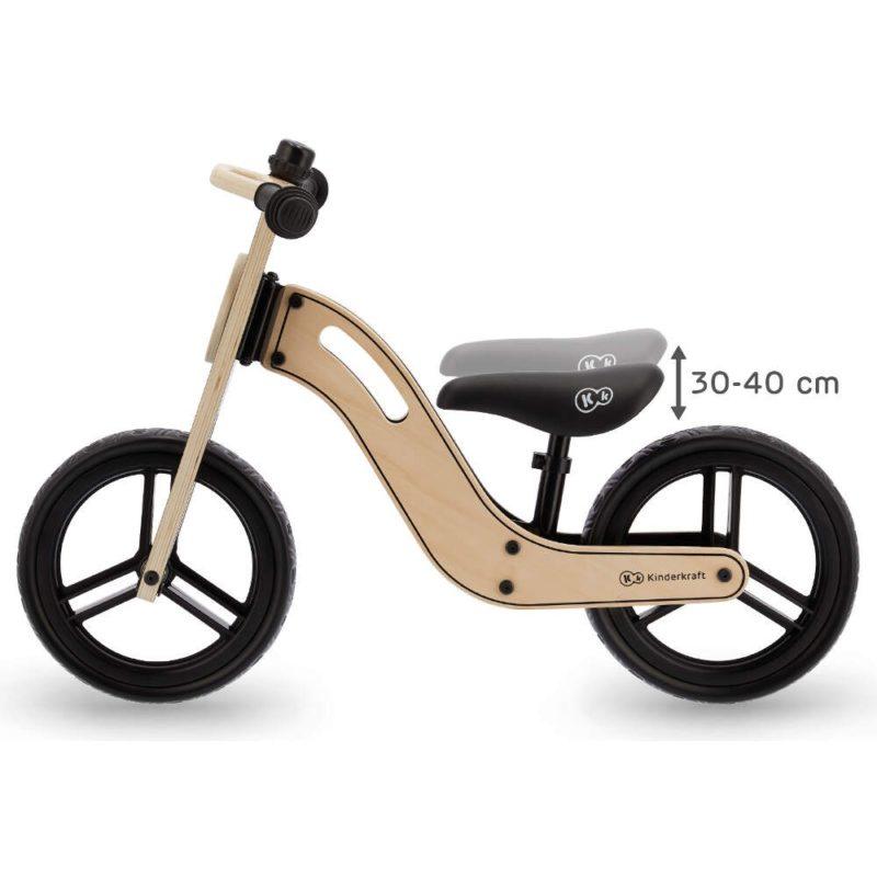 Kinderkraft Uniq Balance Bike - Natural 5