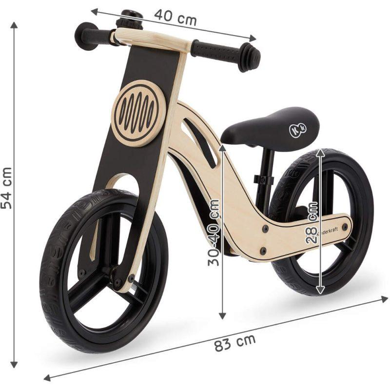 Kinderkraft Uniq Balance Bike - Natural 7