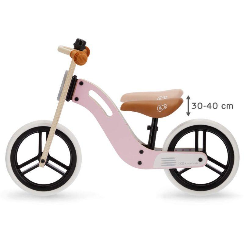 Kinderkraft Uniq Balance Bike - Pink 5