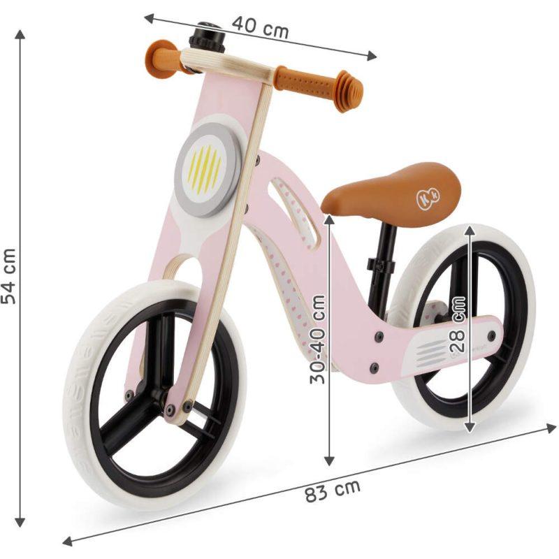 Kinderkraft Uniq Balance Bike - Pink 7