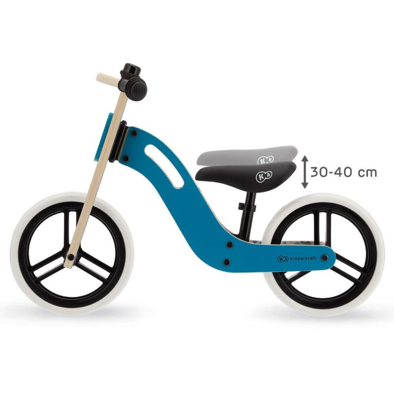 Kinderkraft Uniq Balance Bike - Turquoise 5