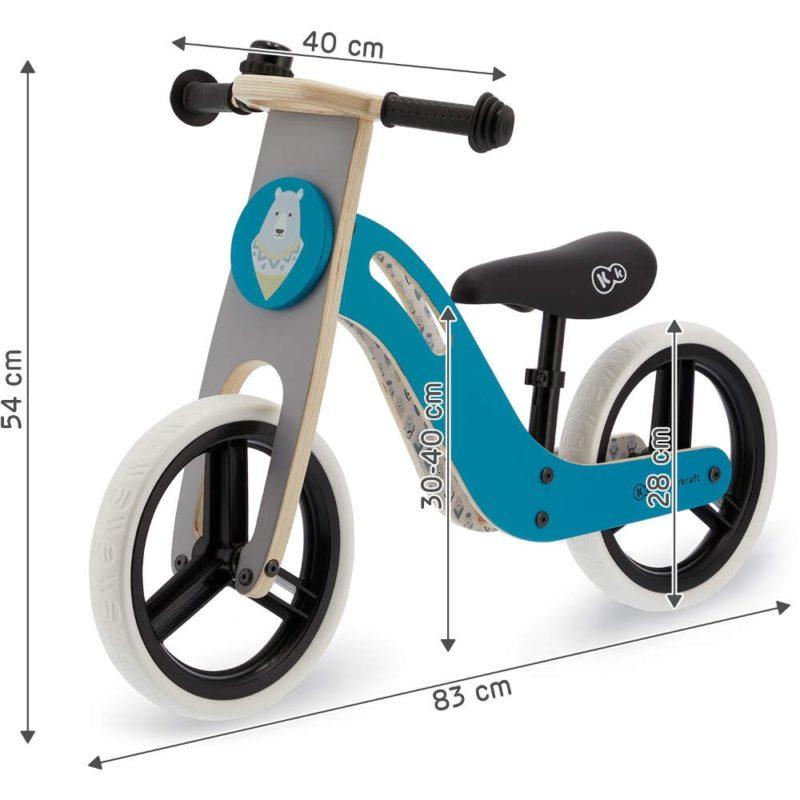 Kinderkraft Uniq Balance Bike - Turquoise 7