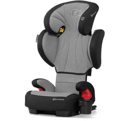 Kinderkraft Unity Isofix Group 2,3 Car Seat - Grey 2