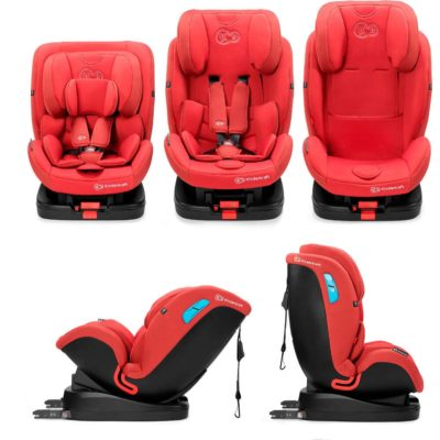 Kinderkraft Vado Isofix Group 0+,1,2 Car Seat - Red 2