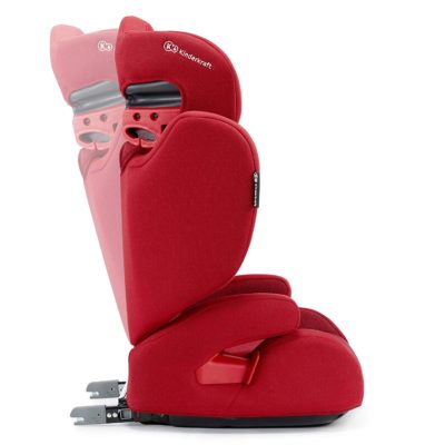Kinderkraft Xpand Isofix Group 2,3 Car Seat - Red 2