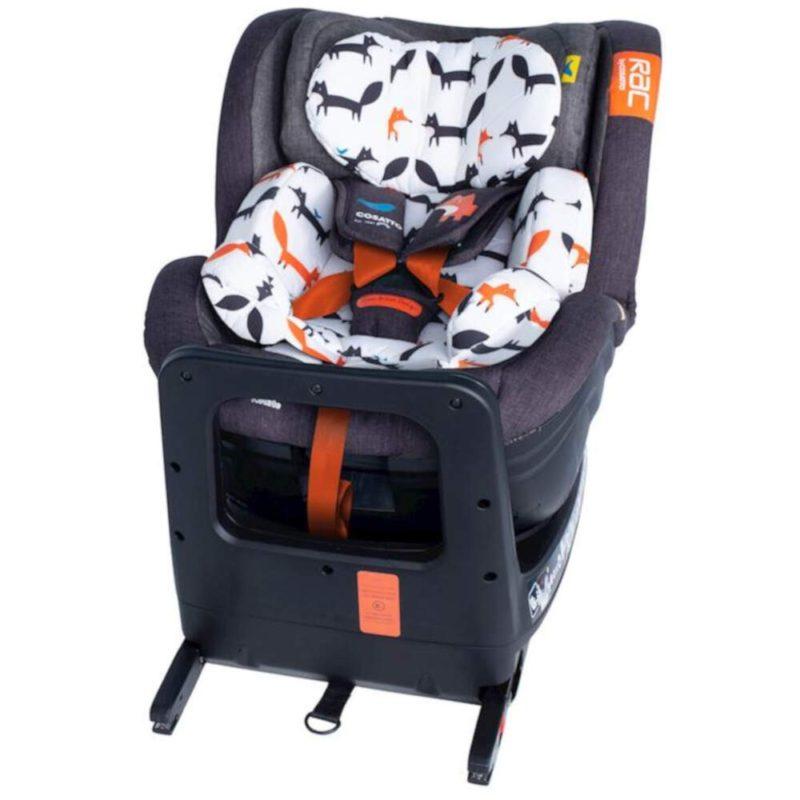 Cosatto RAC Come and Go I-Rotate I-Size Car Seat - Mister Fox