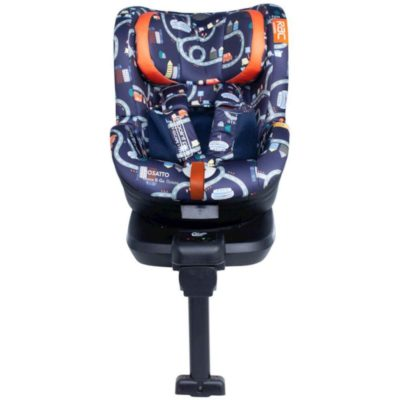 Cosatto RAC Come and Go I-Rotate I-Size Car Seat - Road Map RAC