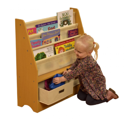 TIKKTOKK Toy Storage Unit with Two Bins