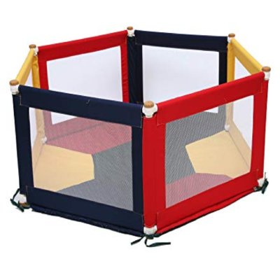 Tikk Tokk POKANO Fabric Playpen – Hexaganol – COLOURFUL
