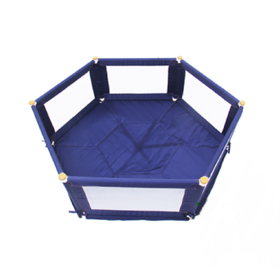 Tikk Tokk POKANO Fabric Playpen – Hexagonal – BLUE