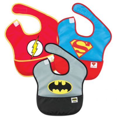batman,superman,theflash,bibs