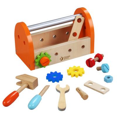 Classic World Carpenter Tool Box