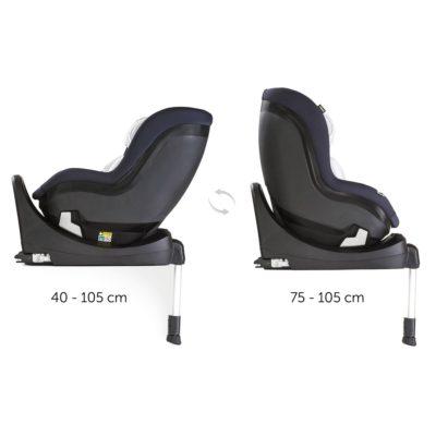 Hauck iPro Kids iSize Car Seat - Caviar 2